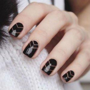 Черный маникюр: модные тенденции и особенности использования - Когда уместен черный лакдля ногтей?