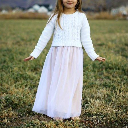 Шитье юбка детская