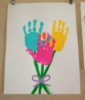 - Детские поделки к 8 марта