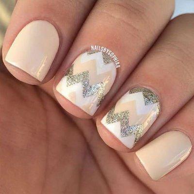 маникюр фото на короткие ногти