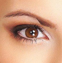 Как сделать макияж для карих глаз, фото