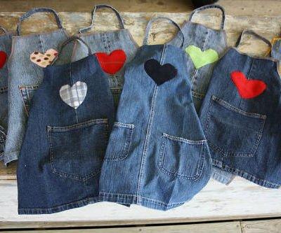 Одежда из джинсов своими руками