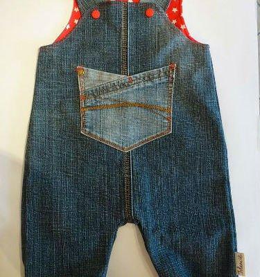 Как из старых джинсов сделать джинсы ребенку 303
