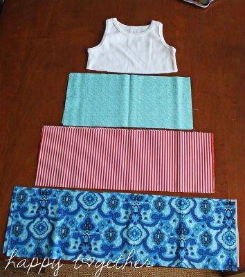 Шить платье для девочки из трикотажа